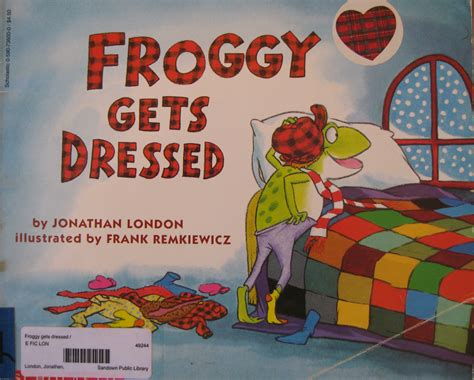 getting books froggy gets dressed the frugal slp