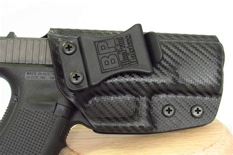 best glock holster glock 19 iwb holster for concealed carry in stock bp holsters
