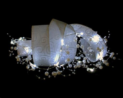 Pearls And Lights Garland Led String Light 4 1 2 Ft