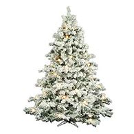 hobby lobby white flocked christmas tree artificial trees trees prelit unlit trees