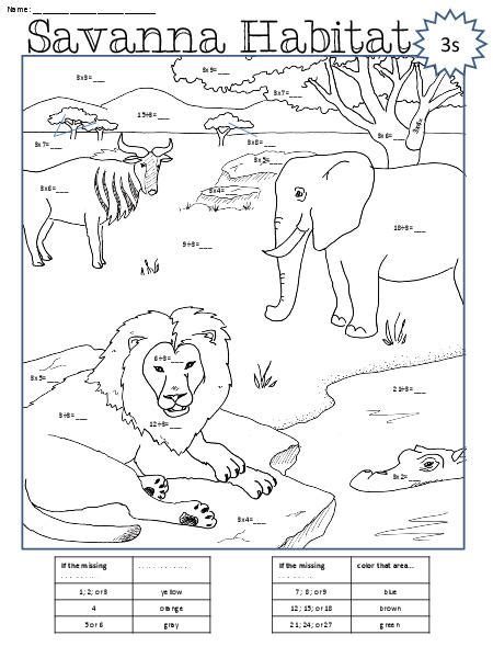 color by number division coloring pages math fact color by number multiplication