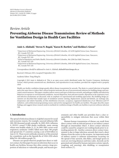 design engineer license preventing airborne disease transmission pdf download