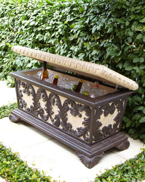 bench cooler elegant outdoor bench with cooler incorporated