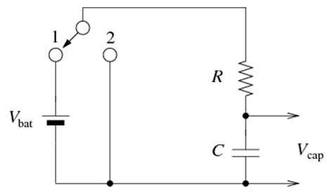 measuring time constant capacitor the circuit below is used to determine the capacit chegg