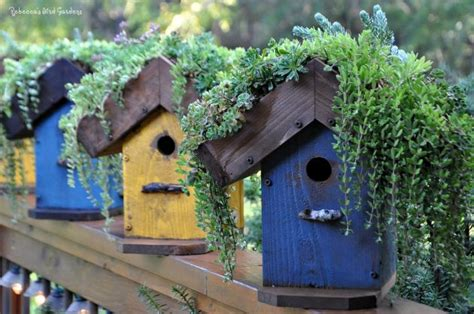 Handmade Birdhouses And Feeders - 15 whimsical handmade birdhouse and feeder designs to