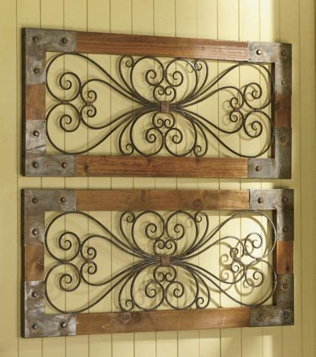 wrought iron and wood wall decor 25 best ideas about wrought iron decor on