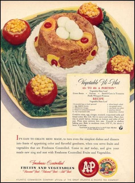 retro recipes from the 50s and 60s 103 vintage appetizers dinners and drinks everyone will books vintage ads with recipes