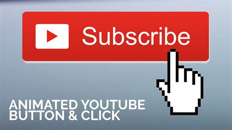 Animated Youtube Subscribe Button With Click In After Effects Phil Ebiner Skillshare Bell Icon Intro Template After Effects