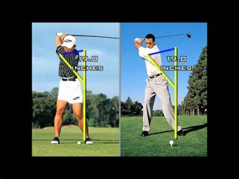 golf swing power leaks golf swing the x factor ii the y factor youtube