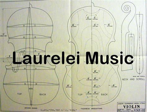 blueprint of a 19th c violin maker s plans 11 x violin plans collection on ebay