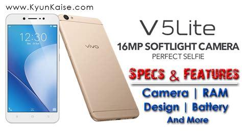 Antibreak Indoscreen For Vivo V5 Lite vivo v5 lite specs features review ram