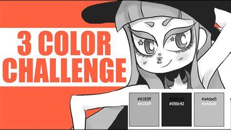 three colors three color challenge using random colors