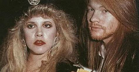 ready  laugh  stevie nicks surprising connection  axl rose society  rock