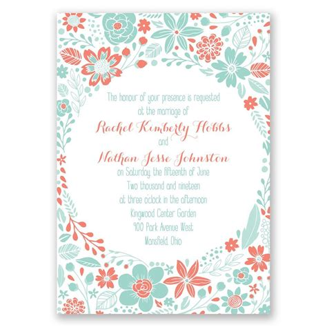 Pretty Wedding Invitations by Pretty Flowers Invitation Invitations By