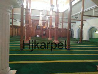 Karpet Buat Masjid pemasangan karpet masjid agung lamongan hjkarpet