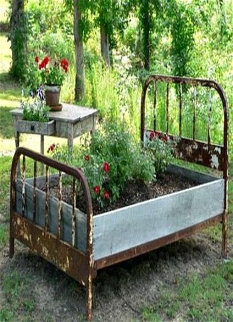 raised garden beds materials 17 best images about recycled garden beds on