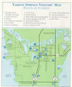 where is tarpon springs florida map city of tarpon springs