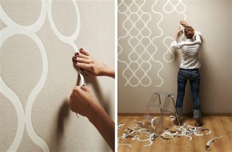 creative tear off wallpaper for customizable design digsdigs