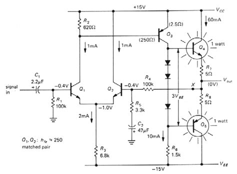 transistor lifier circuits with negative current feedback transistor lifier circuits with negative current feedback 28 images negative current