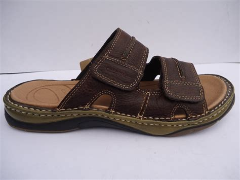 mens comfort sandals new mens leather comfort colorado sandals shoes flip flop