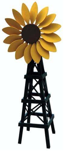 sunflower windmill plan woodworking projects  kids