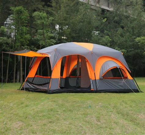 2 bedroom tent 2015 on sale 6 8 10 12 person 2 bedroom 1 living room awning sun shelter family hiking