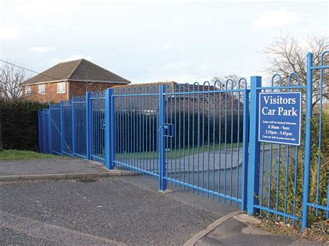 swing gate school swing gates jacksons security fencing