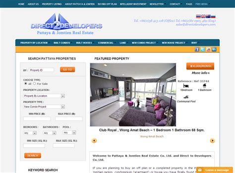 direct 2 developers pattaya web design