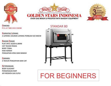Oven Gas Golden Standar merek dan daftar harga oven gas di indonesia oleh