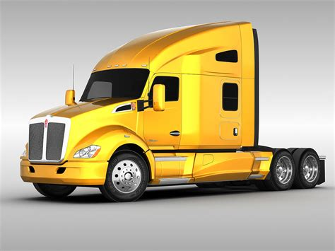 kenworth models kenworth t680 2012 3d model max obj 3ds fbx cgtrader com