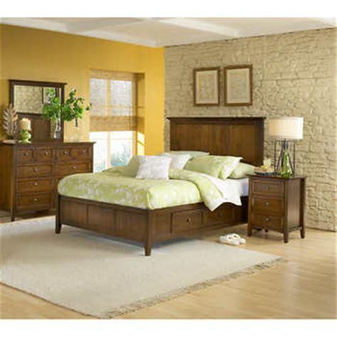 queen storage bedroom set pendleton 5 piece queen storage bedroom set