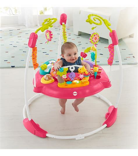 Baby Jumper Pink fisher price pink petals jumperoo