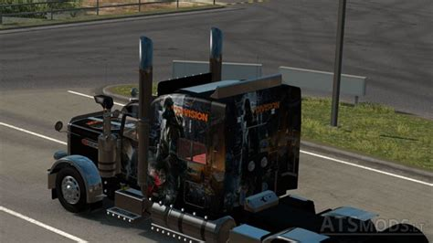 peterbilt 389 tom clancy the division skin american