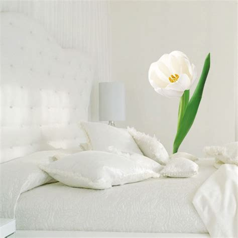 white flower wall stickers white flower wall stickers best free home design idea inspiration