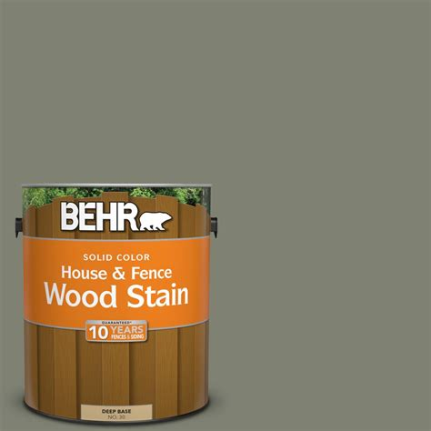 behr  gal sc  drift gray solid color house  fence