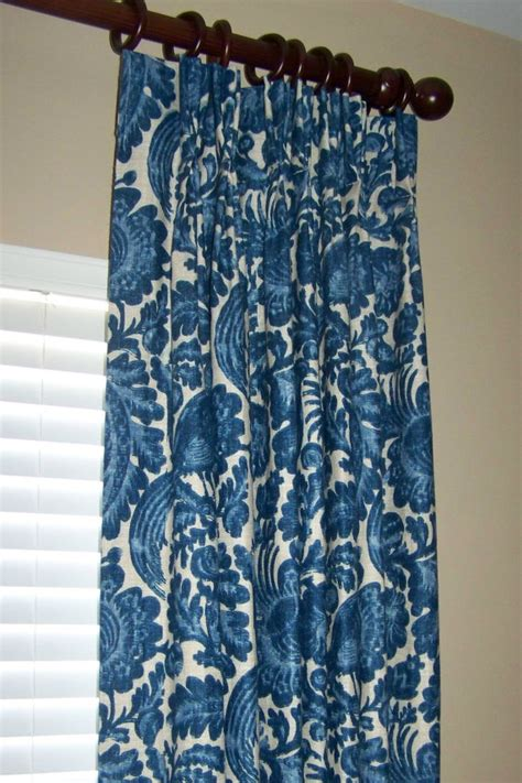 lined pinch pleated drapes items similar to waverly tucker resist lined pinch pleated