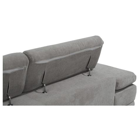 gray chaise sofa taheri gray sofa w right chaise el dorado furniture