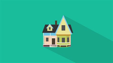 house flat design flat design house disney up by therealmrme on deviantart