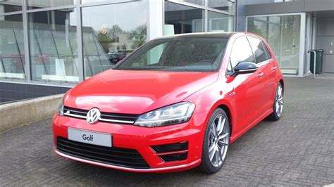 volkswagen golf 7 r 2016 start up in depth review interior