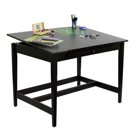 36 x 48 table alvin 36 quot x 48 quot vanguard drawing room table in black ash
