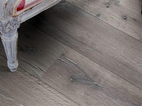 Grey Pergo Flooring by Laminate Flooring With Wood Effect Reclaimed Grey Oak By Pergo