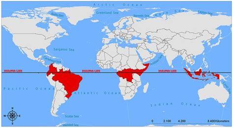 equator  map interesting topics  maps