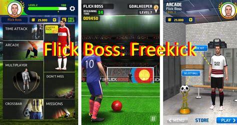 download free game mod freekick battle flick boss freekick mod apk for android download