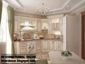 Kitchen Cabinets Luxury white kitchens designs with classic wood kitchen cabinets
