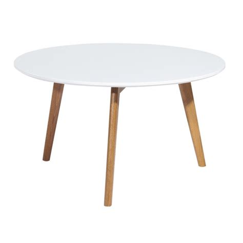 Table Blanche Ronde by Table Basse Ronde Blanche 3 Pieds Ch 234 Ne