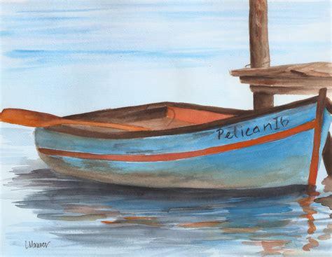 pelican boats website blue and orange rowboat lauren maurer artworks