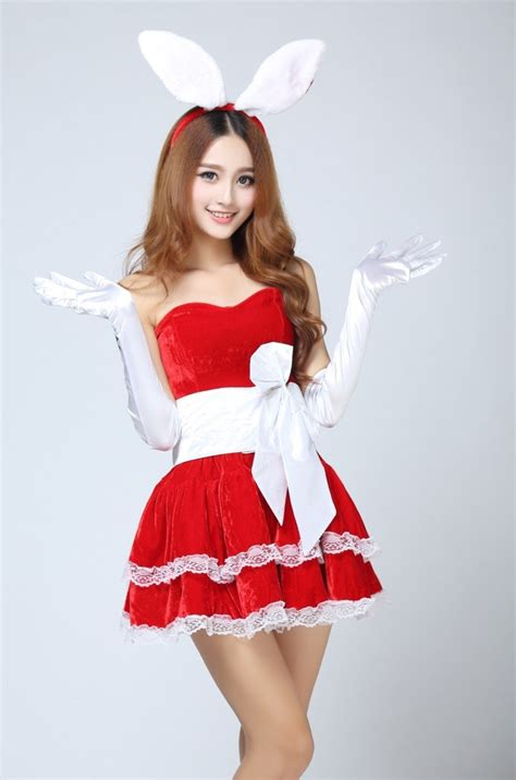 Pp Bunny free pp miss santa clause bunny costume