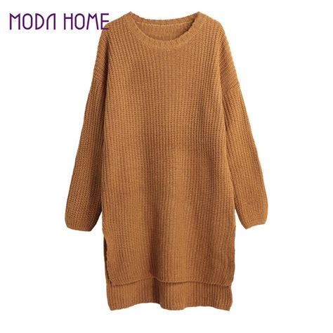 knitting patterns winter sweaters aliexpress com buy 2016 autumn winter new women knitted