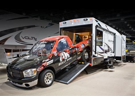 Travel Trailer Toy Hauler Floor Plans by The Rv Industry S Annual Trade Show Sponsored By The Rvia