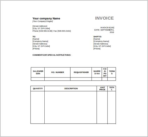 free tax invoice template 10 free tax invoice templates word excel ai free